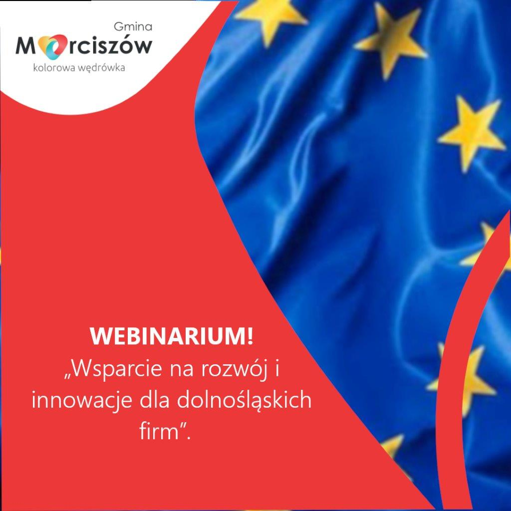 Wsparcie na rozwój i innowacje dla dolnośląskich firm – 06.10.2021 r.